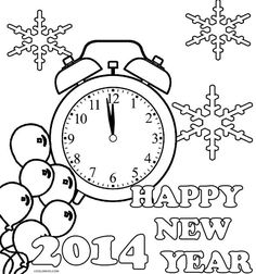 236x252 Happy New Year 2018 Drawing Pictures Happy New Year 2018