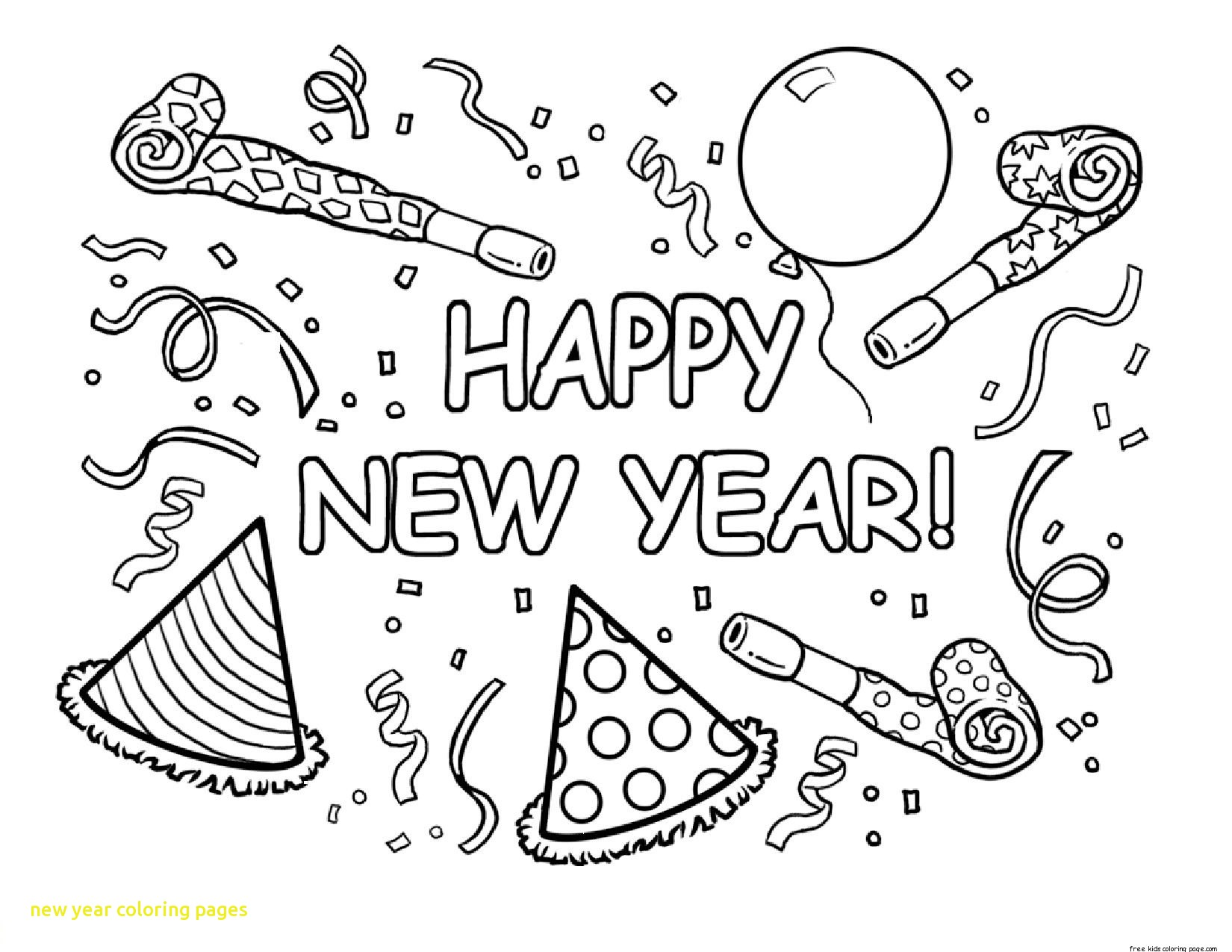 1650x1275 New Year Coloring Pages With New Year Coloring Pages 7 Coloring