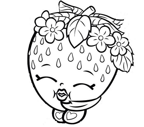 595x526 Shopkins Coloring Pages For Kids