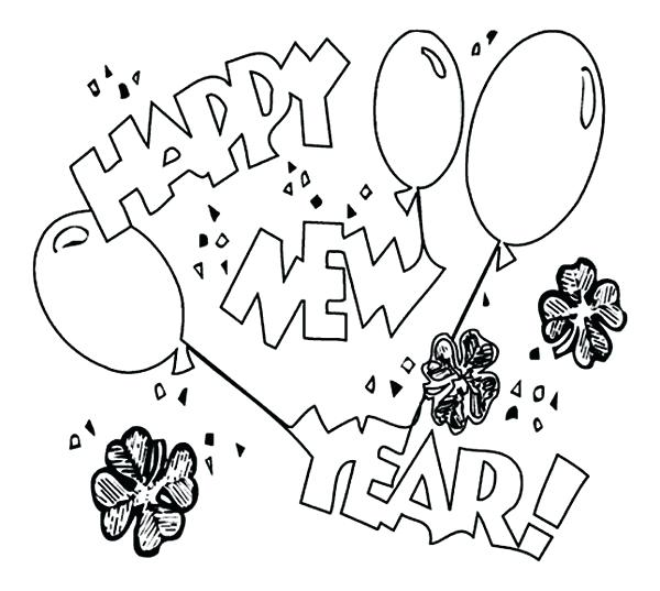 600x537 Chinese New Year Coloring Pages 2016 Free Printable Years For Kids