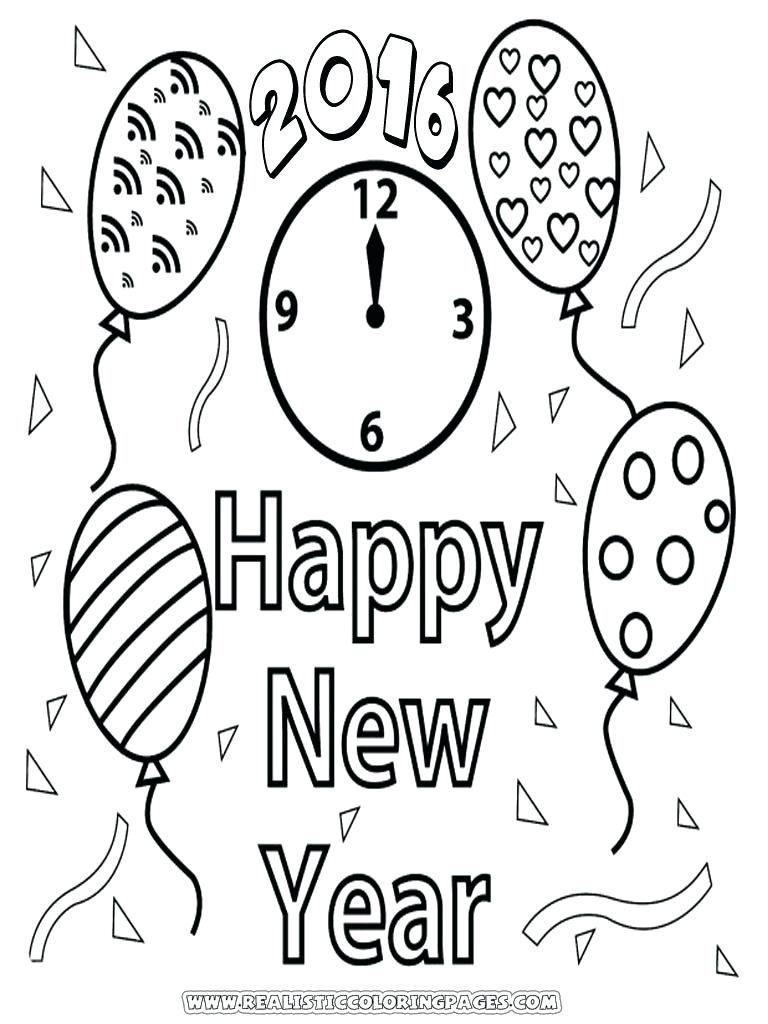 768x1024 Coloring New Year Coloring Sheets Welcome With These Printable