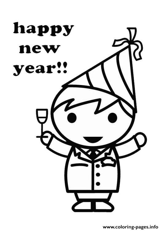531x750 For Kids New Year Celebrate8799 Coloring Pages Printable