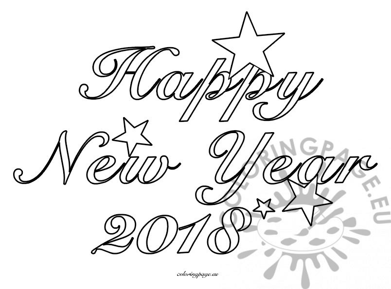 New Year Drawing Image