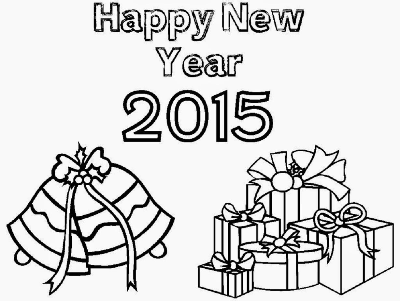 1228x921 Happy New Year 2015 Coloring Drawing Free Wallpaper Anggela