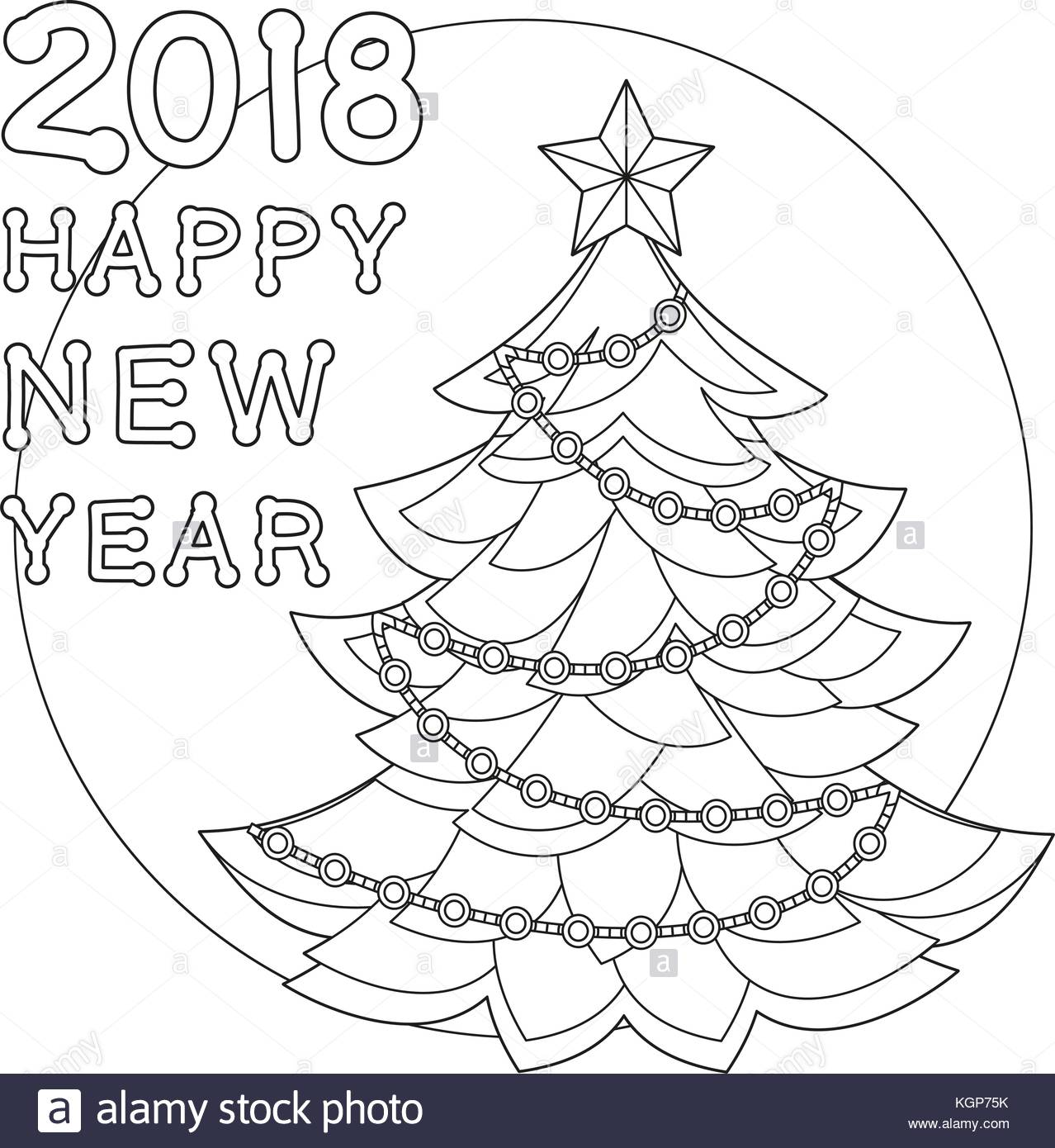 1278x1390 Happy New Year 2018 Black And White Stock Photos Amp Images