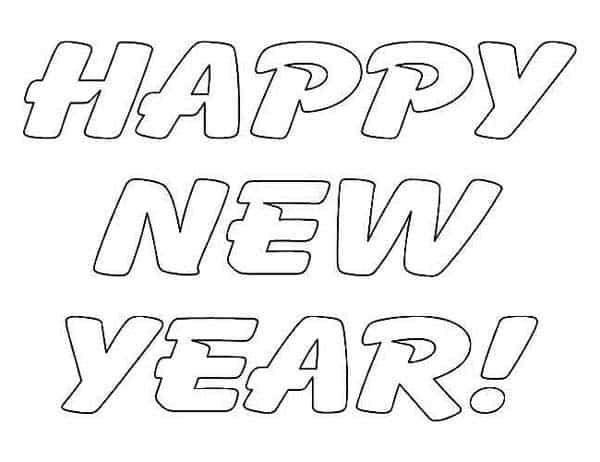 600x462 Happy New Year Coloring For Chinese For Children Happy Greeting