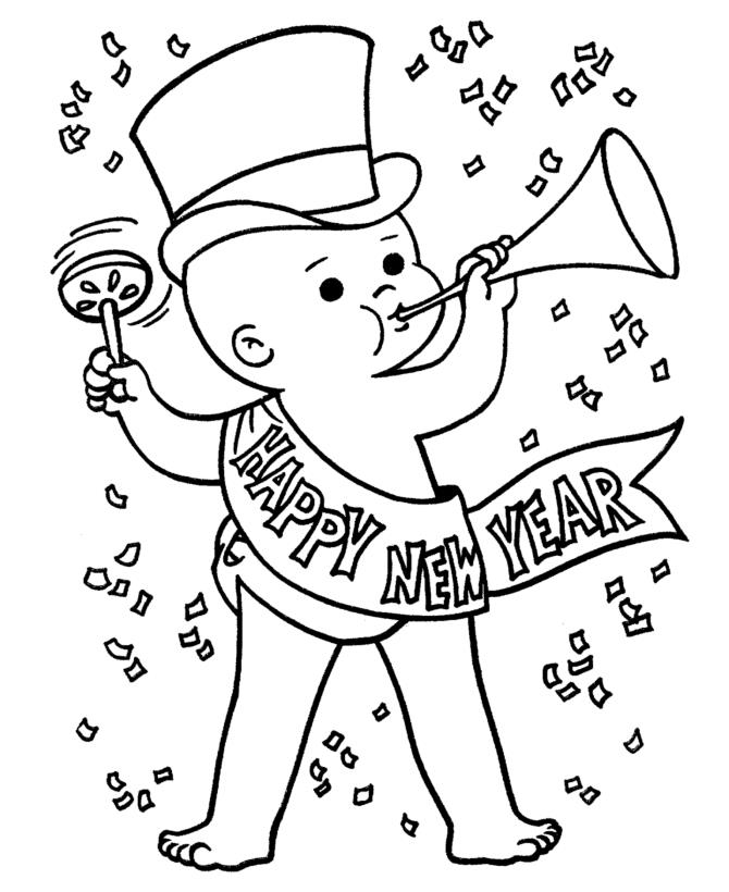 670x820 New Year Celebration Drawing Merry Christmas Amp Happy New Year
