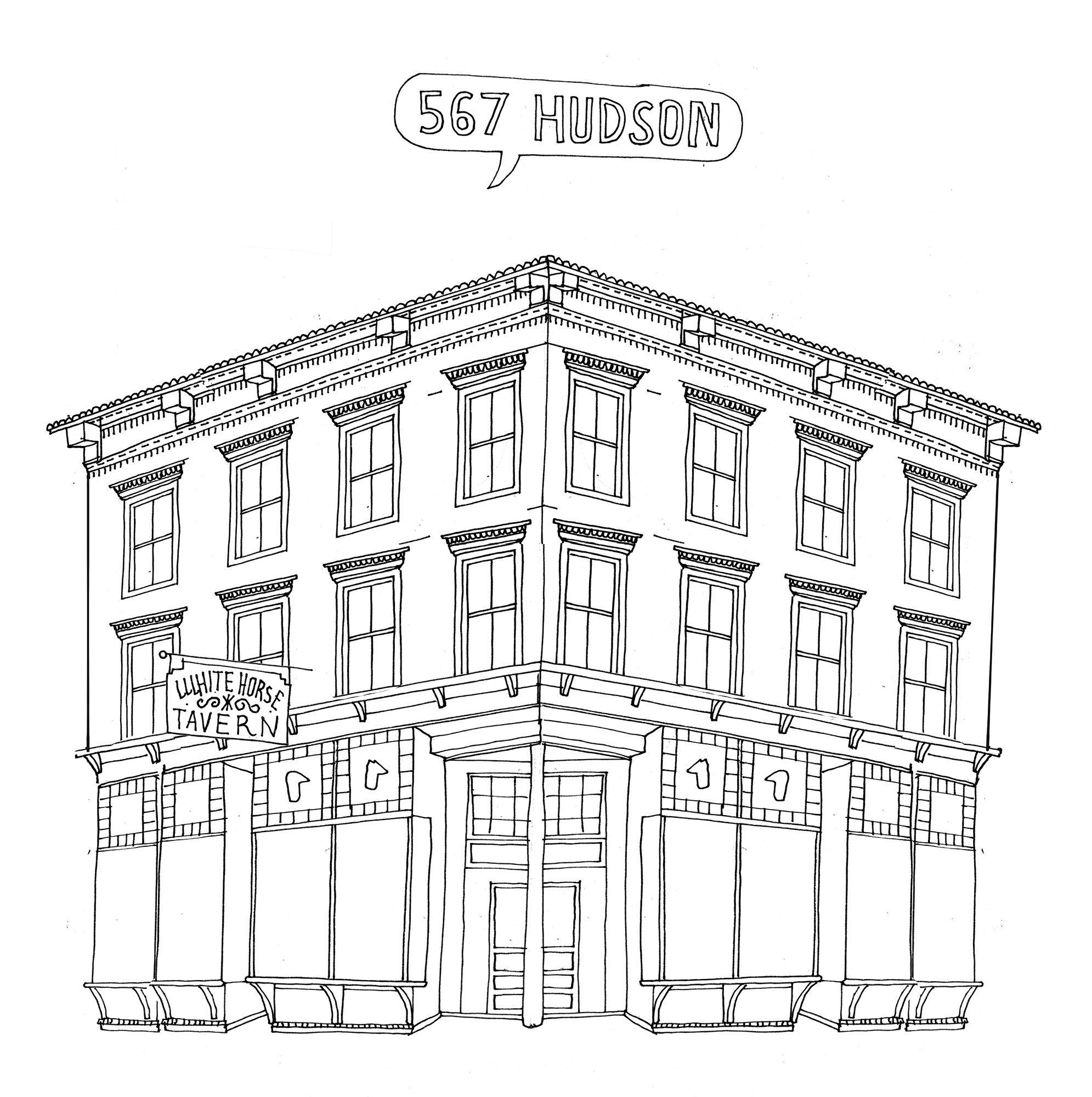 1991x2000 567hudson Drawing Manhattan And Sketchbooks