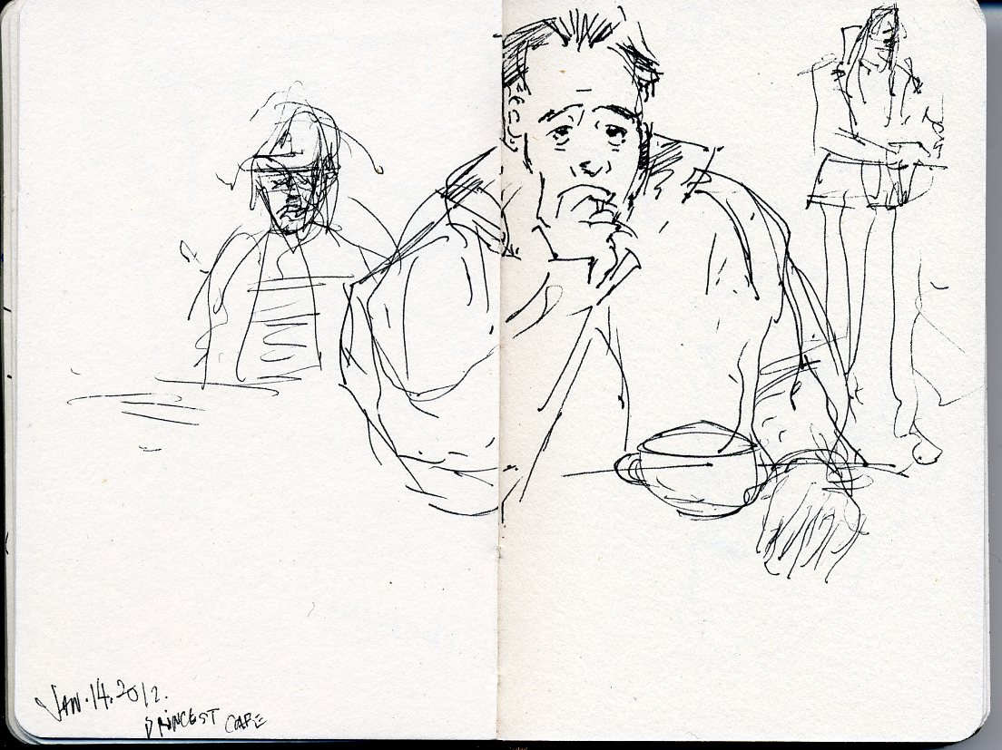1104x827 Loop Gallery Sketches In New York City By Eric Farache