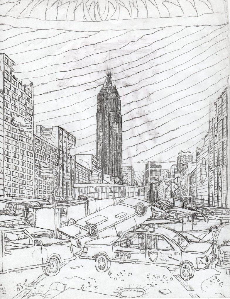 784x1020 New York City Destruction By Death Ark
