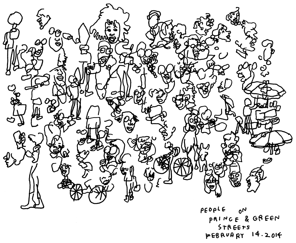 1000x821 Jason Polan Has Drawn Every Person In New York (Almost)
