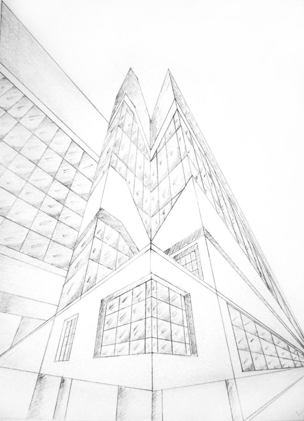 600x829 8 Best Perspective Drawing Inspiration Images
