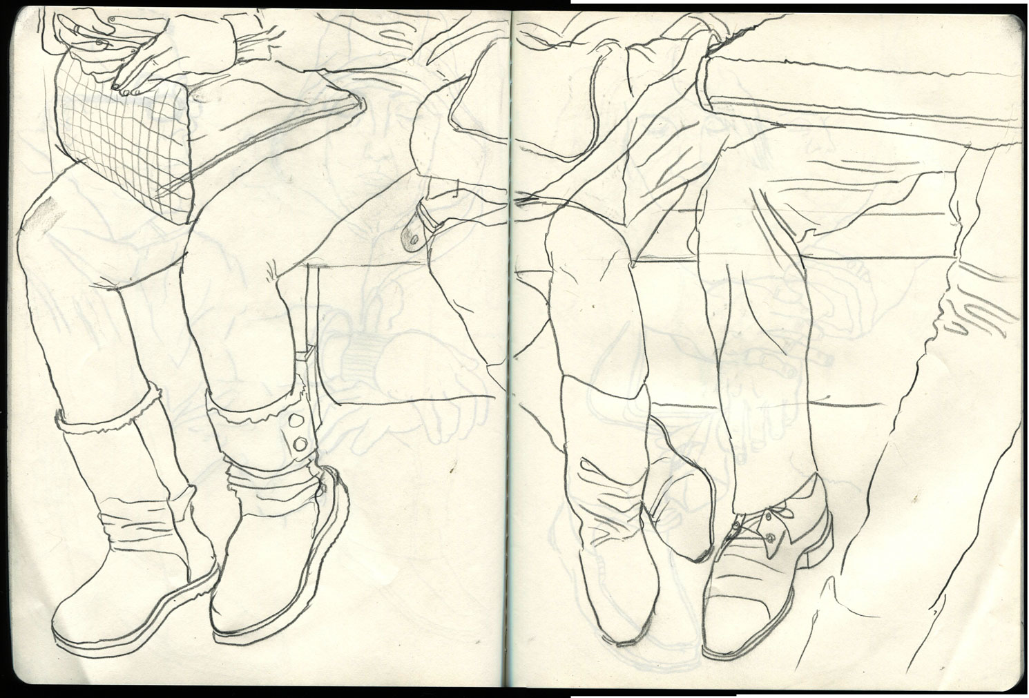1490x1011 New York City Subway Train Drawings Breaking In A New Sketchbook