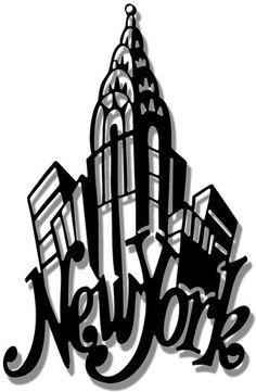 236x361 Broadway Clipart Skyline