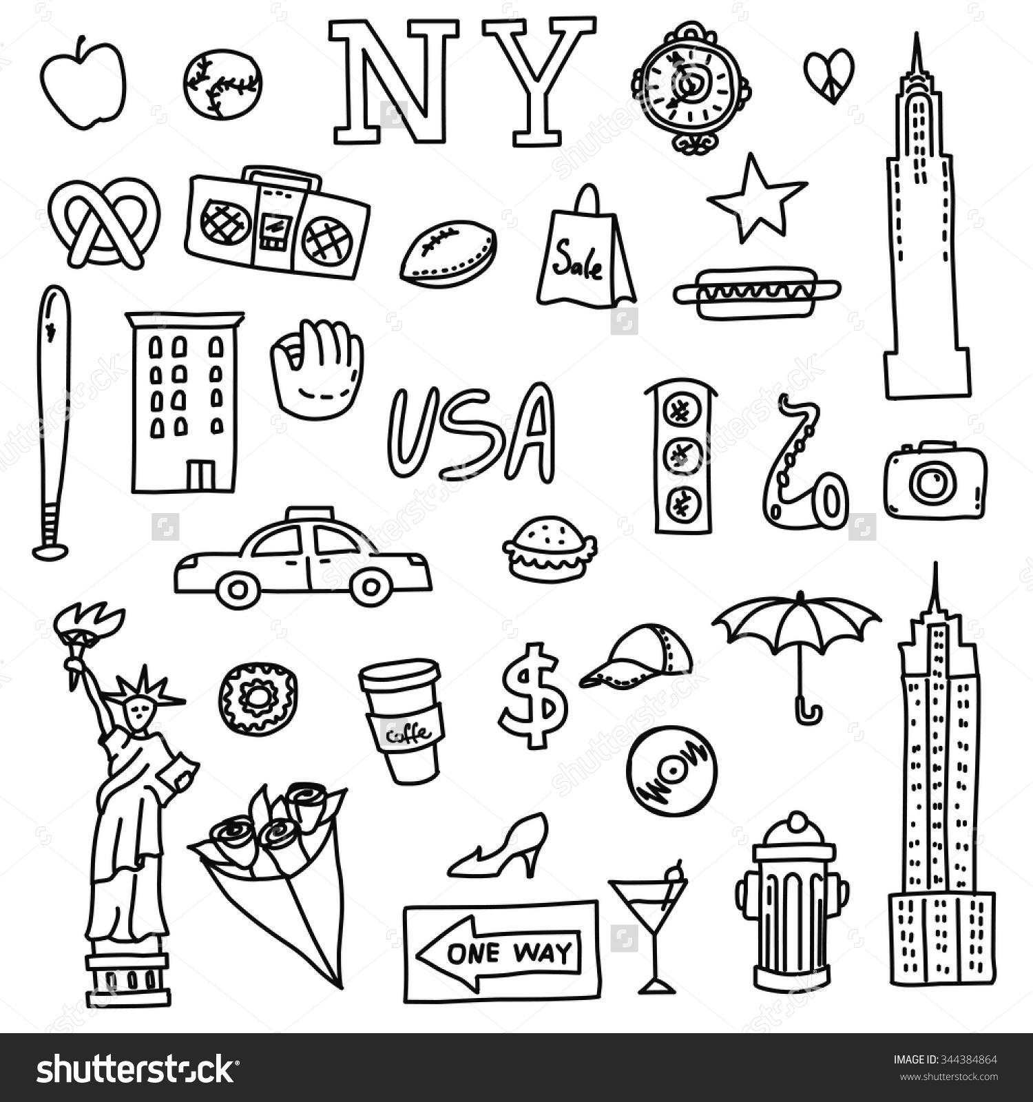 1500x1600 New York Symbols Images