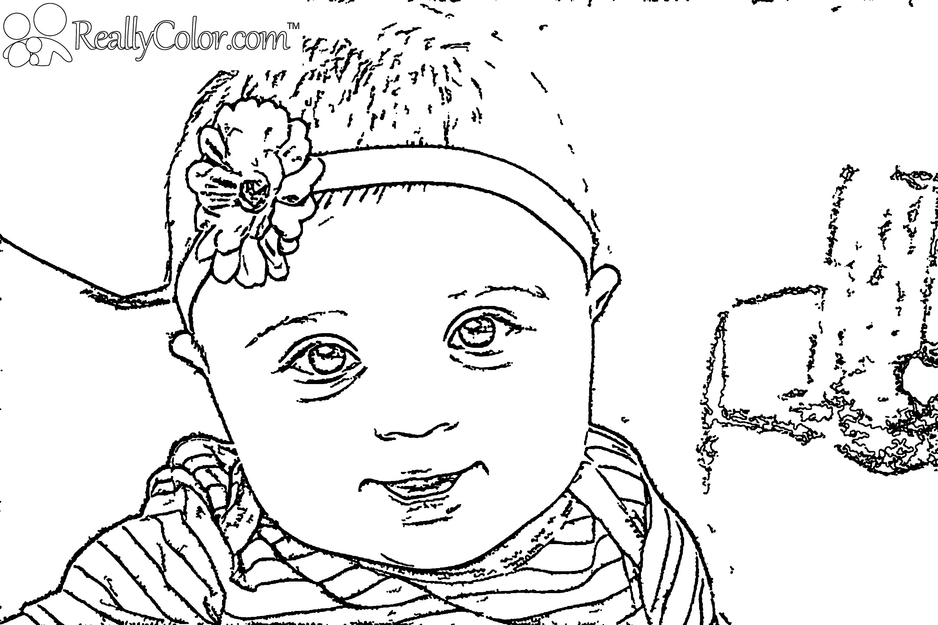 Newborn Baby Drawing At Free For Personal Use Eyebrow New 3000x2000 The Boss Coloring Page Printable Pages