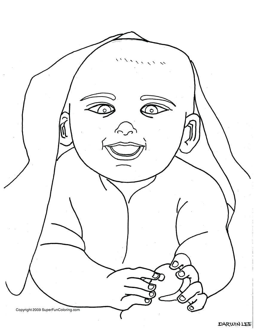 Newborn Baby Drawing at GetDrawings.com | Free for personal use ...