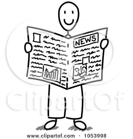 Newspaper Drawing At Getdrawings Com