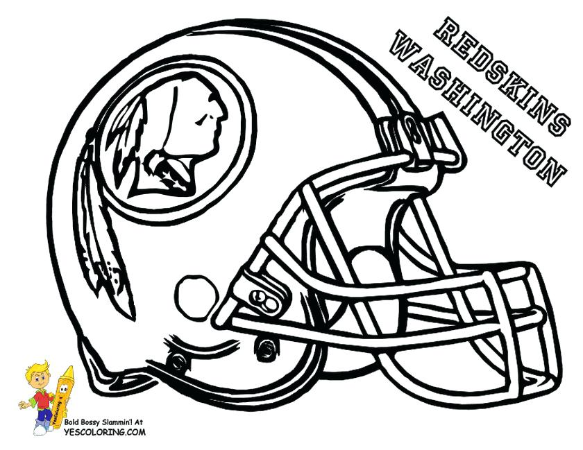 840x649 Nfl Coloring Pages Sheets Free