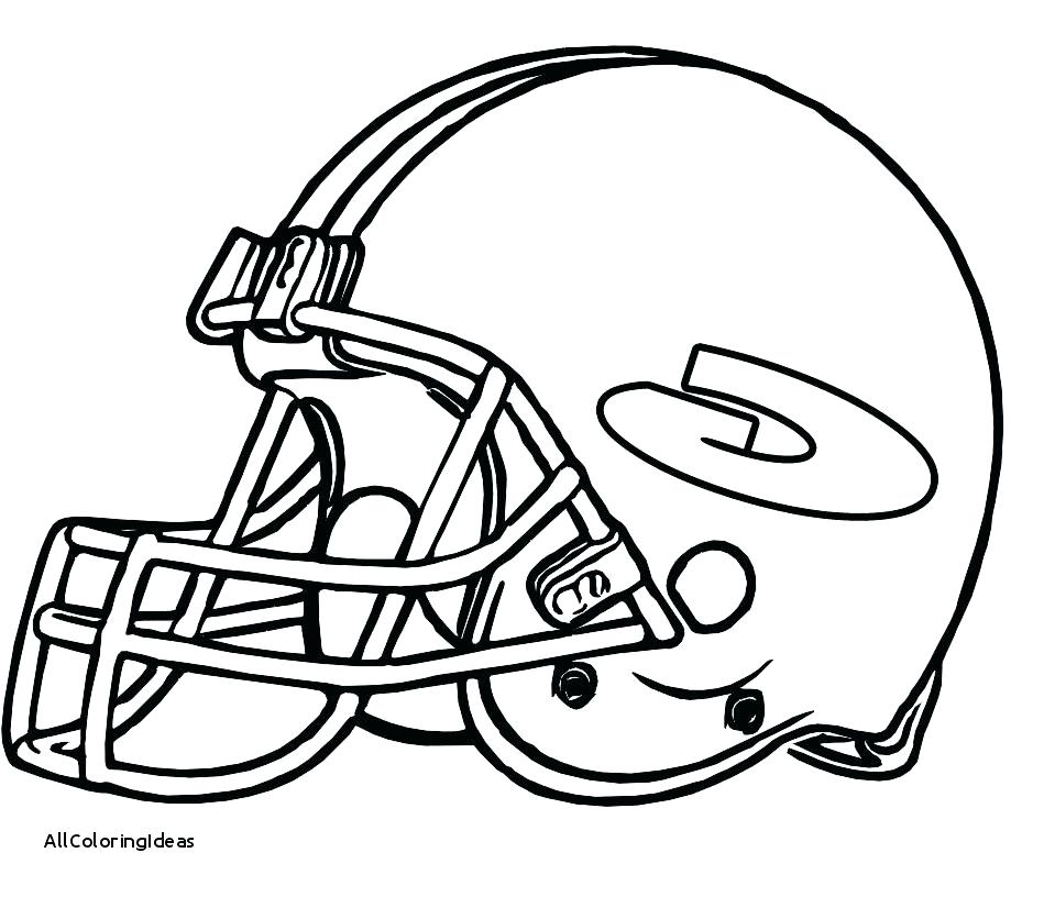 959x816 Nfl Football Coloring Pages As Football Helmet Coloring Pages