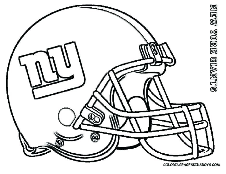 940x726 Coloring Pictures Of Football Players Football Player Coloring