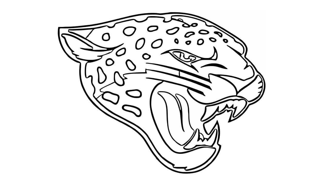 1280x720 Como Desenhar O Escudo Do Jacksonville Jaguars (Nfl)