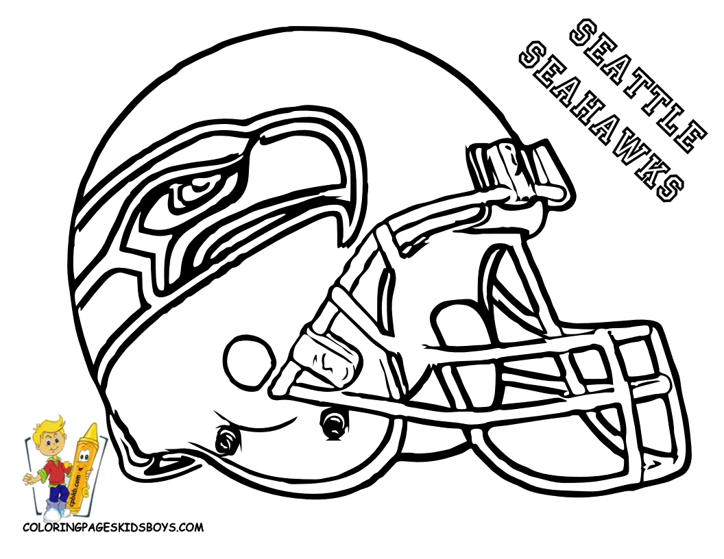 Nfl Football Drawing