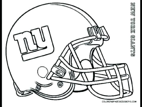 480x360 Football Coloring Pages Nfl Coloring Page Interesting Decoration