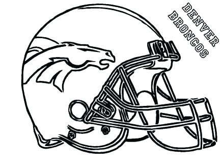 440x330 Football Coloring Pages Nfl Standard Football Coloring Page