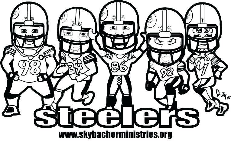 764x465 Lovely Football Coloring Pages Nfl Kids Free Printable Sports Fre