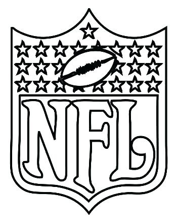350x437 Nfl Coloring Page Coloring Coloring Pages Logo Coloring Pages
