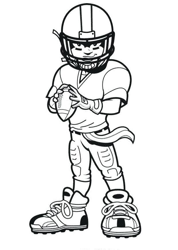 620x870 Football Coloring Pages Nfl Football Coloring Pages Free Printable