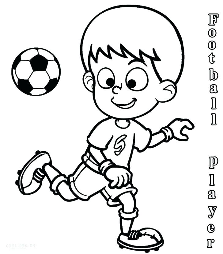 728x826 Football Player Coloring Page Draw Football Player Coloring Pages