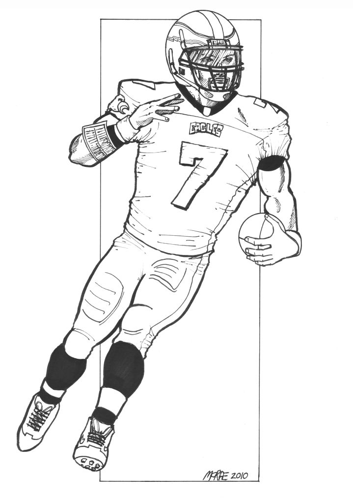 719x1024 15 Images Of Eagles Football Players Coloring Pages