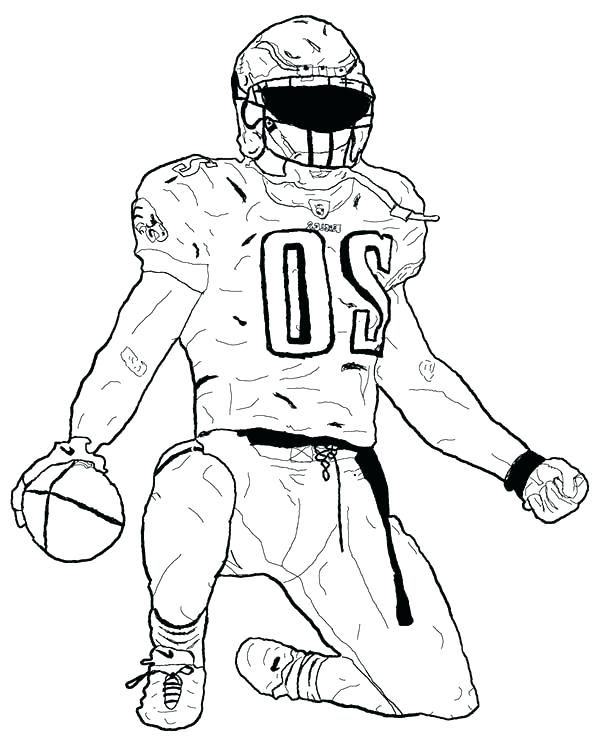 coloring pages football players nfl - photo#19