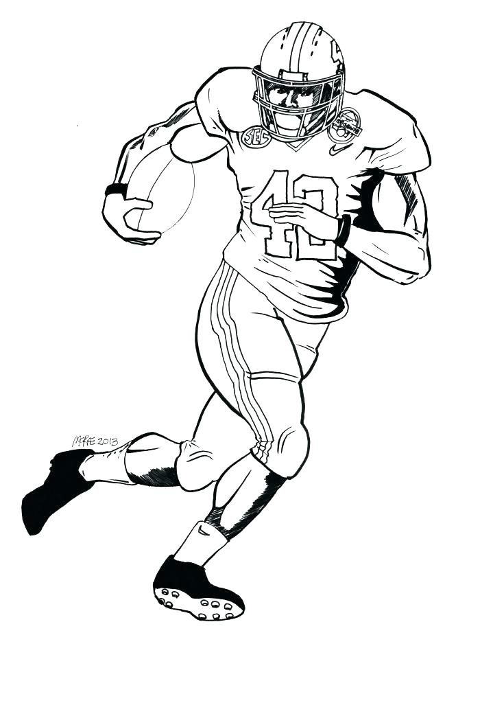 719x1024 Coloring Pages Of Football Players Coloring Pages Of Football