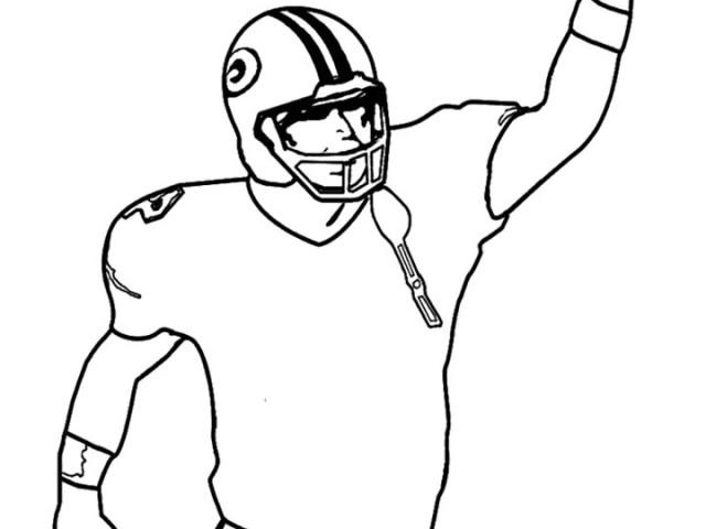 640x480 Nfl Football Player Drawings Clipart Panda