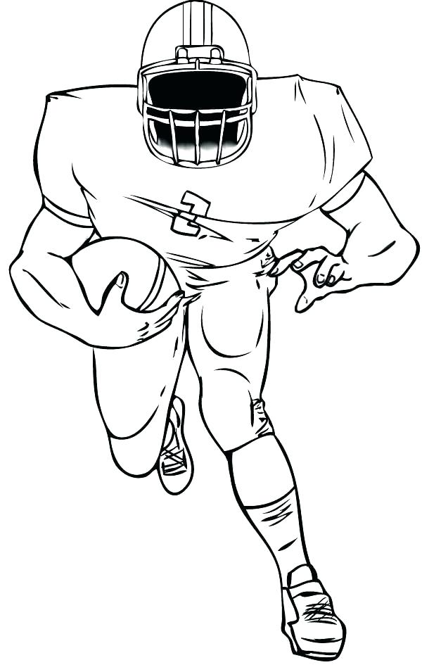 600x955 Nfl Football Player Coloring Pages Brexitbook.club