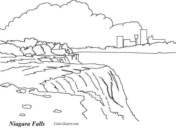 Niagara Falls Drawing