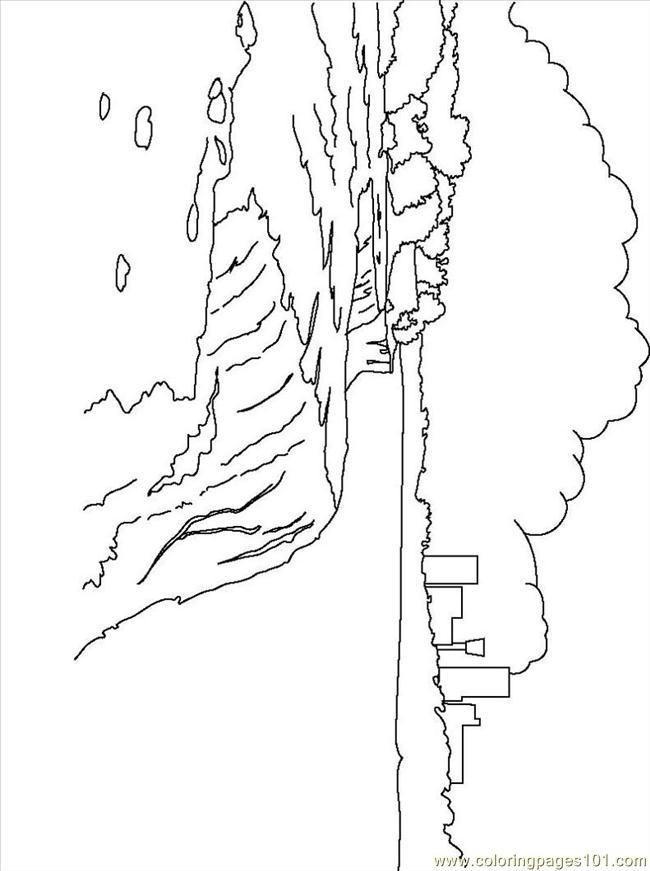 650x871 Niagara Falls Coloring Pages Coloring Page For Kids