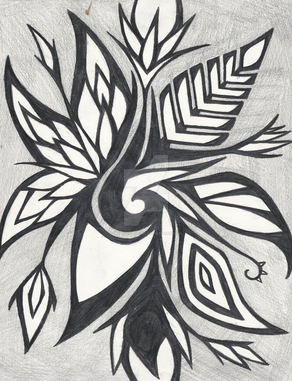 1024x1335 Nice Abstract Drawing 10870