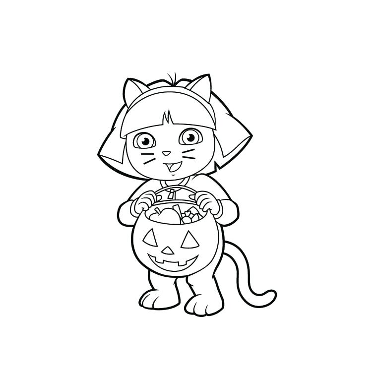 760x760 Nick Jr Dora Printable Coloring Pages Nickelodeon For Kids Within