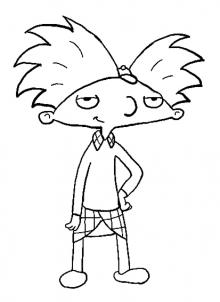 220x302 How To Draw How To Draw Arnold From Hey Arnold