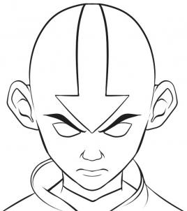 268x302 How To Draw How To Draw The Last Airbender