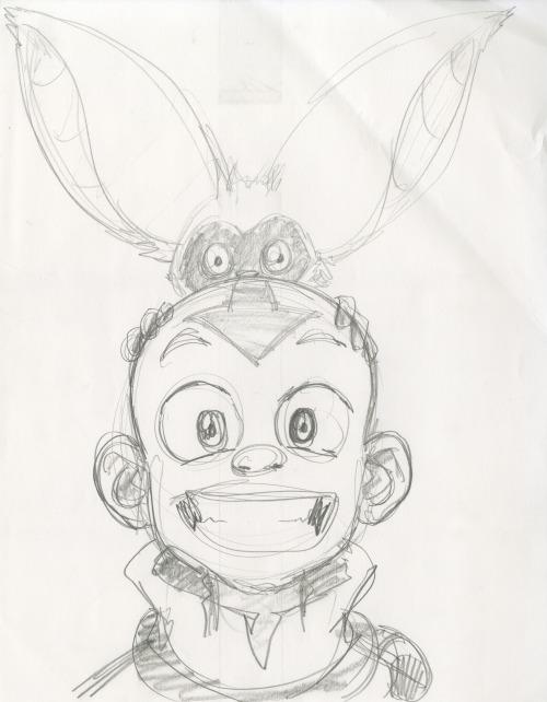 500x642 Drawing Art Aang Avatar Artist Atla Sketch Nickelodeon Nick