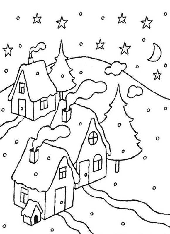 580x800 Day Night Coloring Pages And Page For