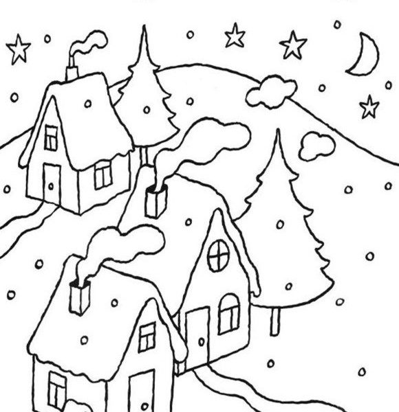 580x600 Day Night Coloring Pages Coloring Pages Night Coloring Pages
