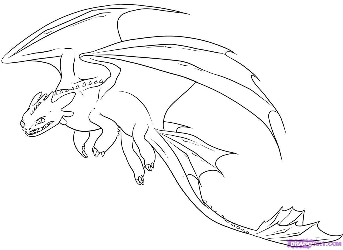 1200x875 9. How To Draw Night Fury