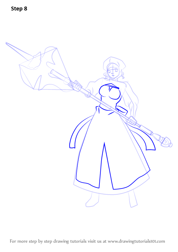 596x843 Learn How To Draw Leysritt From Fate Stay Night (Fate Stay Night