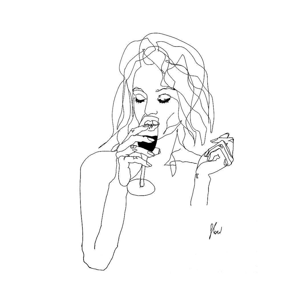 1080x1080 Tag A Drink Amp Grab A Friend. Wait What Champagne, Drawing, Sketch